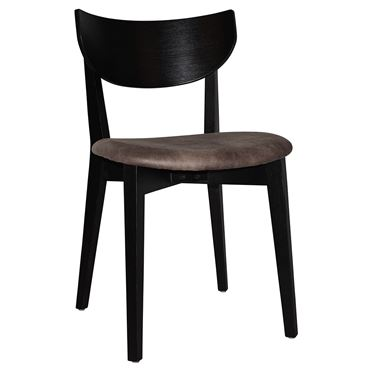 Rialto Café Chair with Upholstered Seat Pad