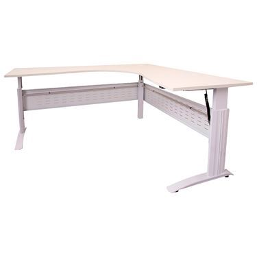 "Rapid Span Electric Height Adjustable ""C-Leg"" Workstation"
