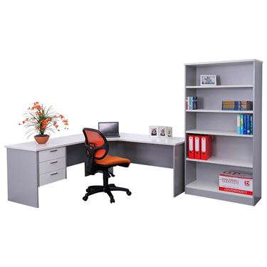 Ship Shape Corner Workstation