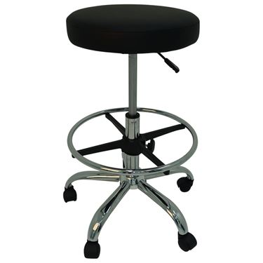 """Sidekick"" Swivel Stool with Footring"