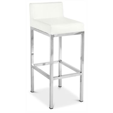 Solo Stool with Back Standard Height