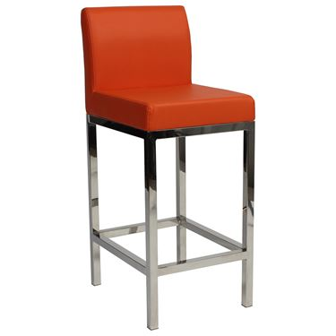 Solo Stool with Back Low Height