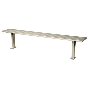 Squire Bolt-Down Outdoor Bench Setting