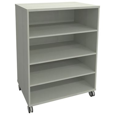 Sterling Mobile Double Sided Bookcase