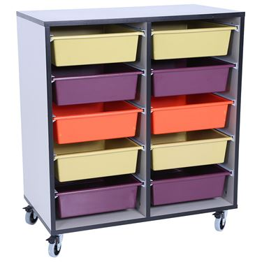 Storewell Mobile Tote Storage Trolley