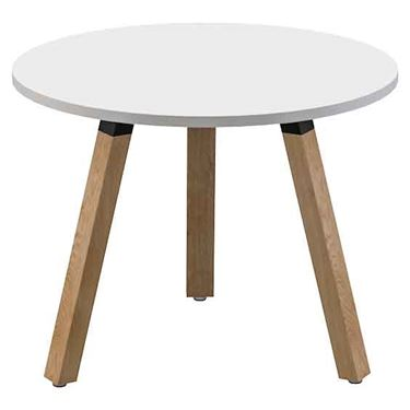 Sustain Timber Leg Round Meeting Table