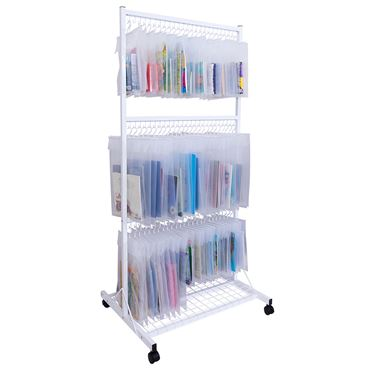 Mobile Hanging Frames - Three-Tier with Hooks