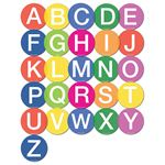 On Your Marks Uppercase Letters (48 Pack)