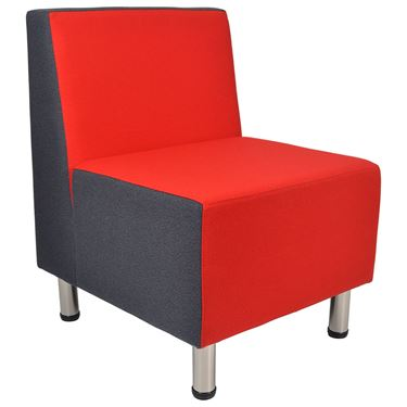 "The ""Q"" Lounge Chair without Arms"