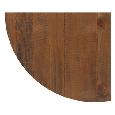 28mm Rustic Solid Timber Round Top