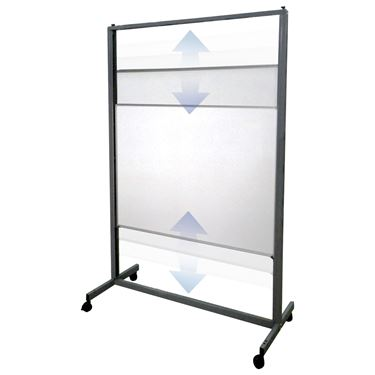 Vertical Sliding Mobile Whiteboard