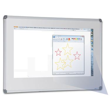 "Porcelain ""Projection"" Whiteboard"