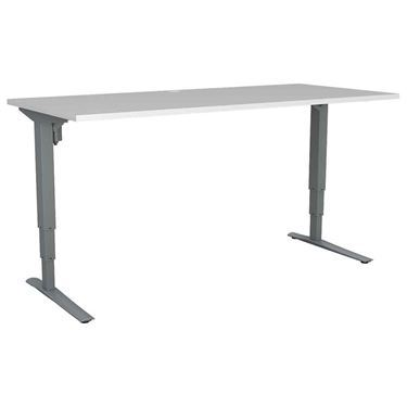 Upsy Height Adjustable Straight Desk