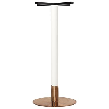 Voli 1050H White and Copper Base - Copper Disc
