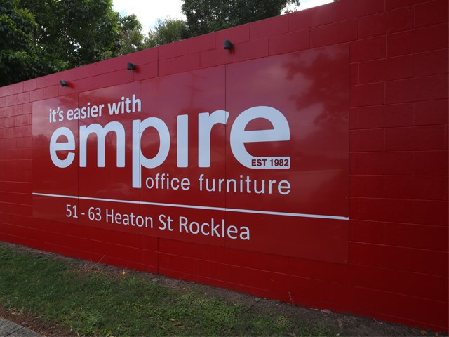 Superb Empire Opens Australias Largest Office Furniture Showroom Interior Design Ideas Gentotryabchikinfo