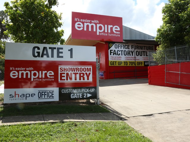 Empire Opens Australia S Largest Office Furniture Showroom And Factory Outlet At Rocklea Empire