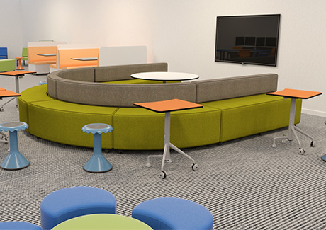 New Educational Approaches' Effect on Classroom Design
